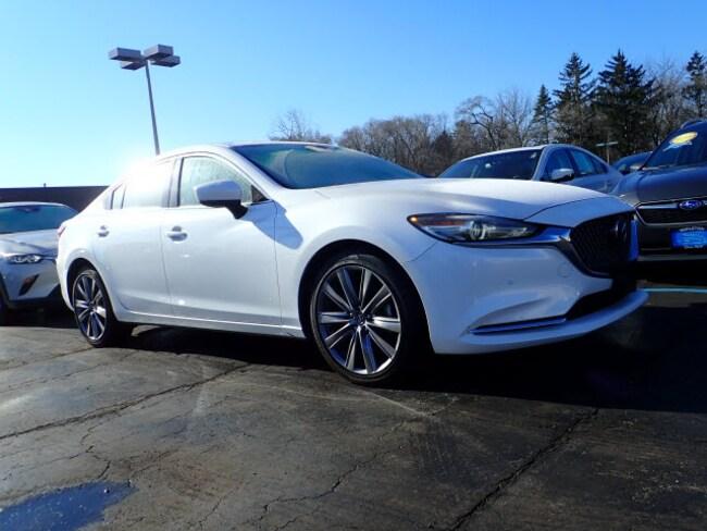 Certified pre-owned Mazda vehicle 2018 Mazda Mazda6 Signature Signature  Sedan for sale near you in Arlington Heights, IL