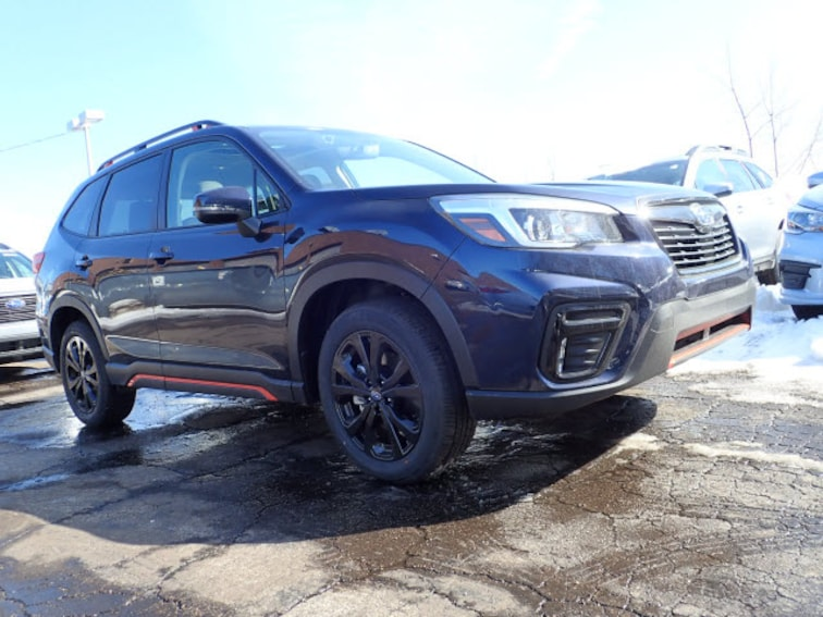 New 2019 Subaru Forester Sport SUV Arlington HeIghts