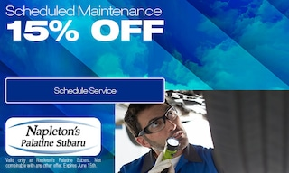 15% Off Scheduled Maintenance