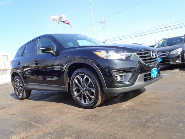 Certified pre-owned Mazda vehicle 2016 Mazda CX-5 Grand Touring AWD Grand Touring  SUV for sale near you in Arlington Heights, IL