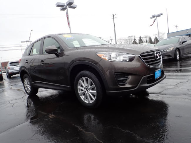 Certified pre-owned Mazda vehicle 2016 Mazda CX-5 Sport AWD Sport  SUV (midyear release) for sale near you in Arlington Heights, IL