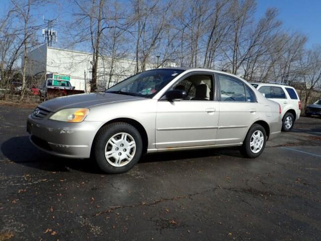 Used vehicles 2002 Honda Civic LX LX  Sedan for sale near you in Arlington Heights, IL