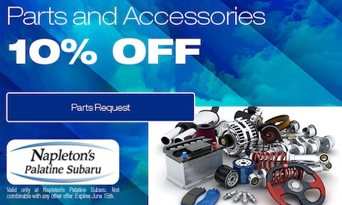 10% Off Parts and Accessories