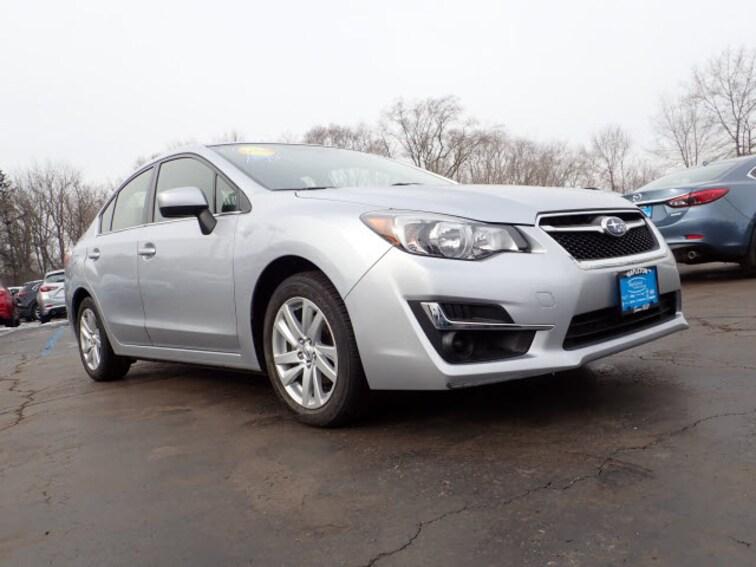 2016 Subaru Impreza 2.0i Premium AWD 2.0i Premium  Sedan