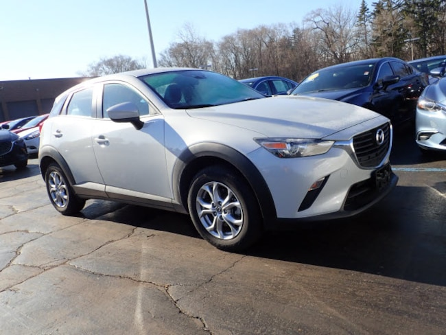 Certified pre-owned Mazda vehicle 2018 Mazda CX-3 Sport AWD Sport  Crossover for sale near you in Arlington Heights, IL
