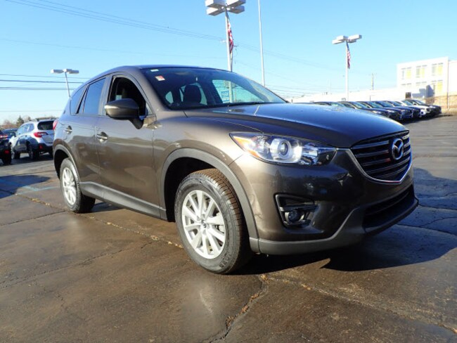Certified pre-owned Mazda vehicle 2016 Mazda CX-5 Touring Touring  SUV for sale near you in Arlington Heights, IL