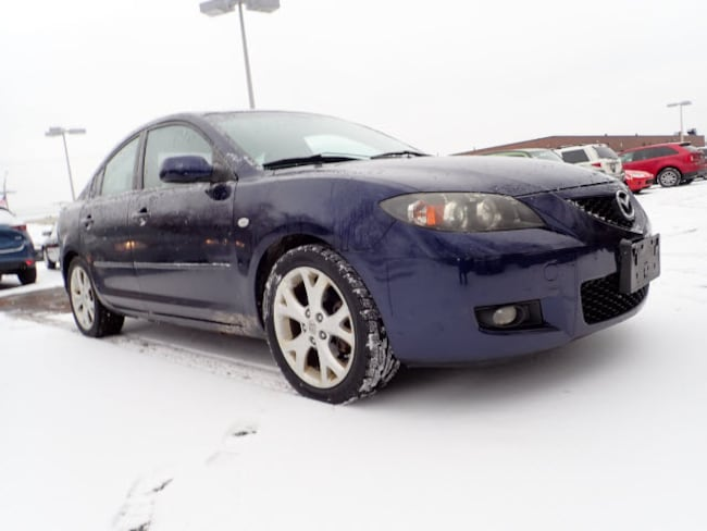 Used vehicles 2009 Mazda Mazda3 4 DR i Sport  Sedan 4A for sale near you in Arlington Heights, IL