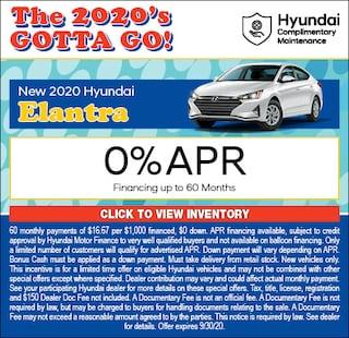 2020 - Elantra