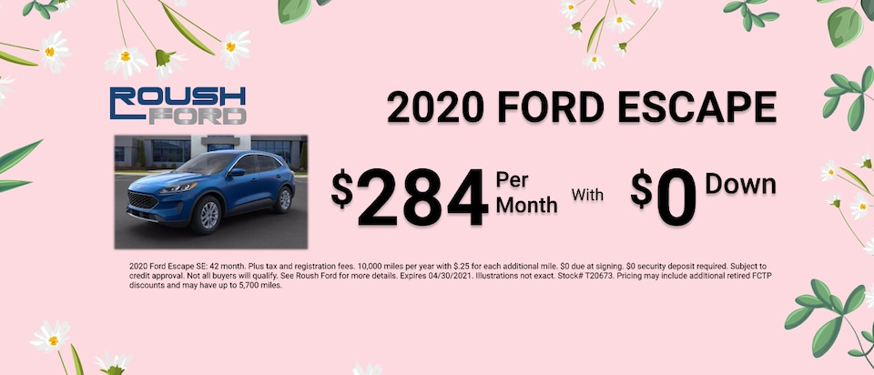 2020 Ford Escape Special