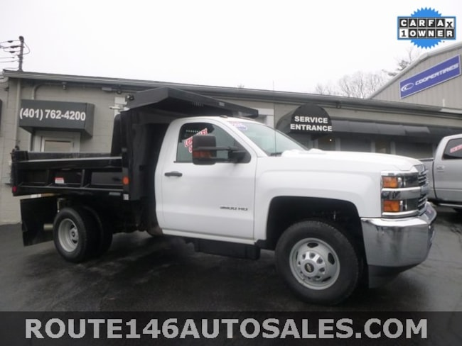 2016 Chevrolet Silverado 3500HD Chassis Work Truck Truck Regular Cab