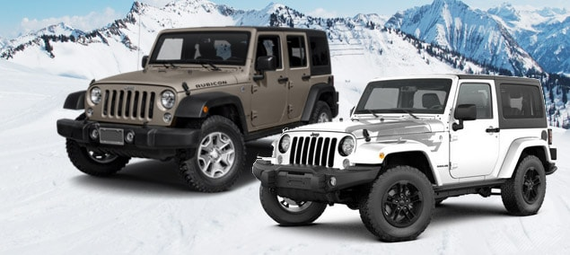 2017 Jeep Wrangler Special Editions NJ