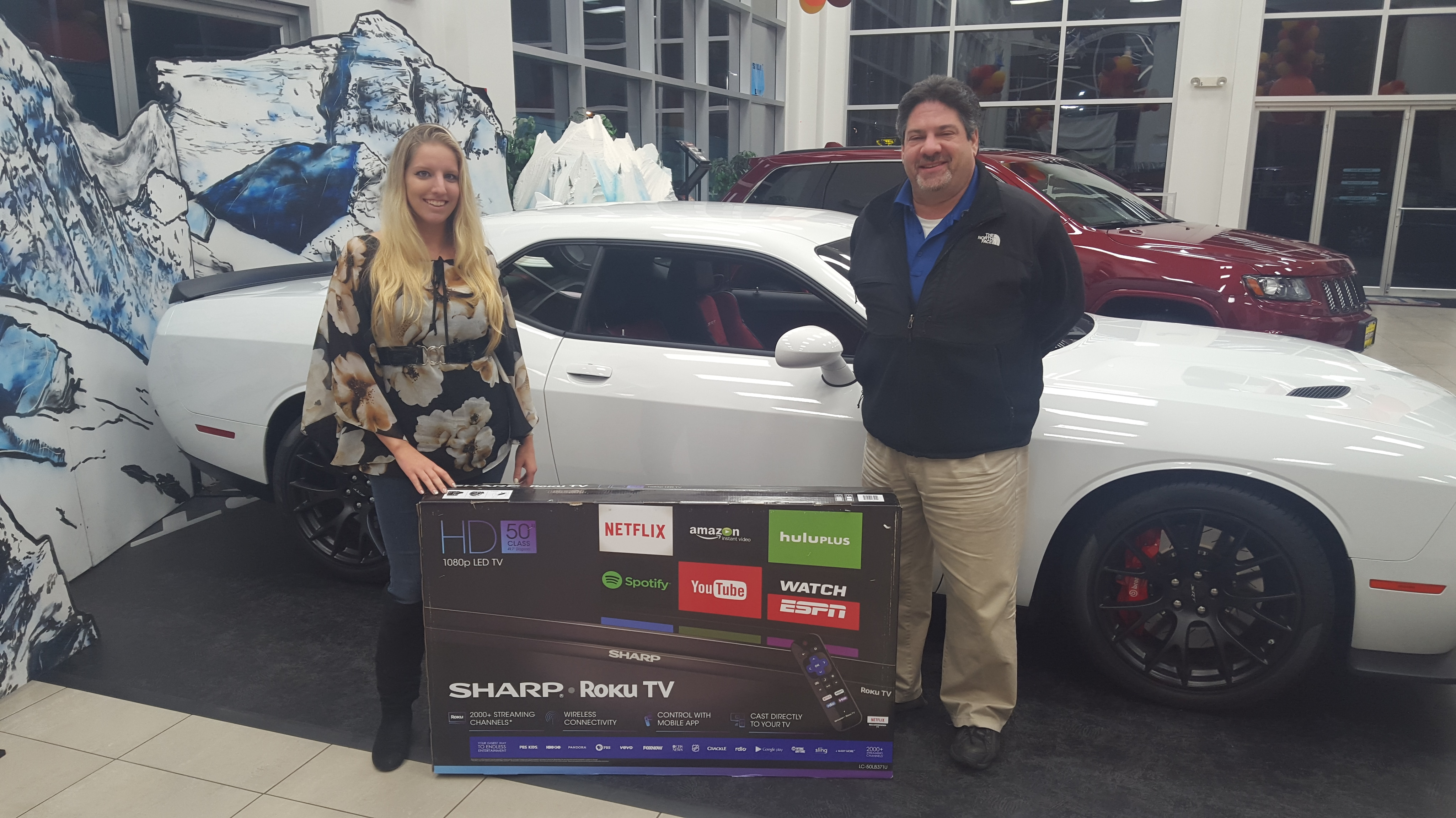 Sharp Roku HD TV Raffle Winners NJ