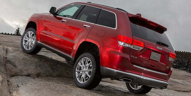 2016 Jeep Grand Cherokee Quadra Lift