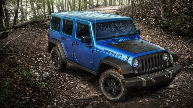 2016 Jeep Wrangler Black Bear NJ