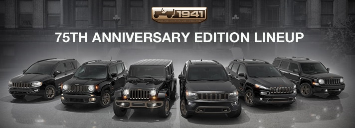 Jeep 75th Anniversary Editions NJ