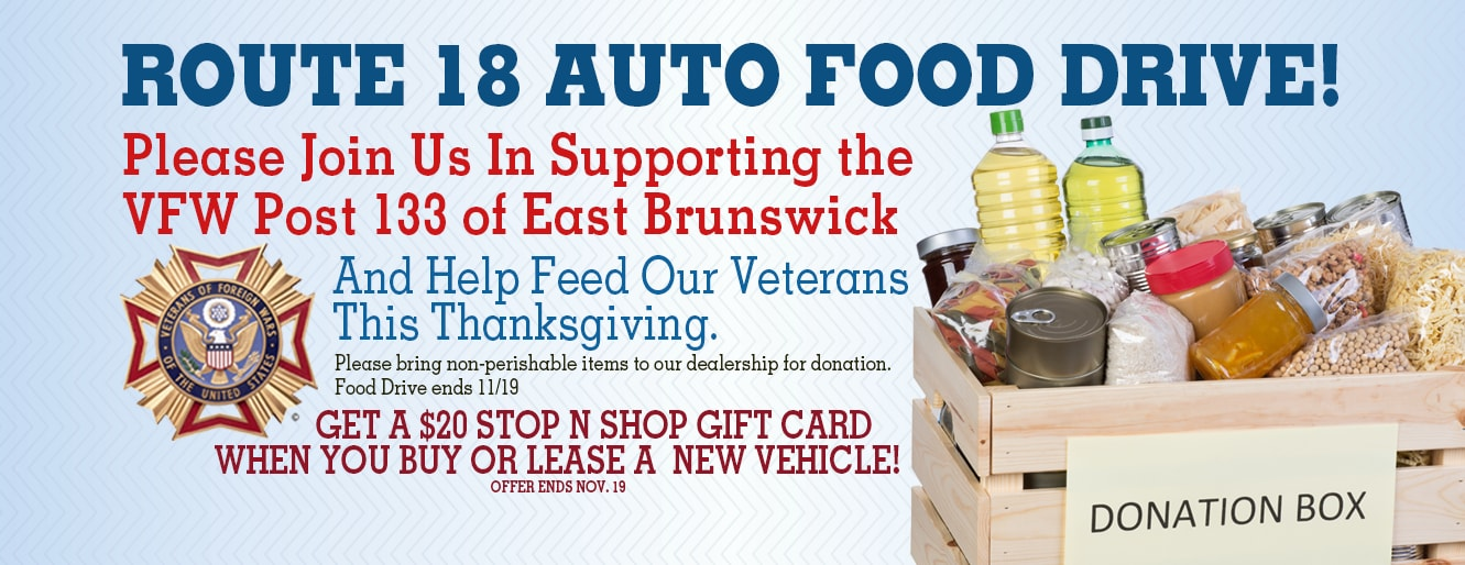 Thanksgiving Food Drive East Brunswick NJ