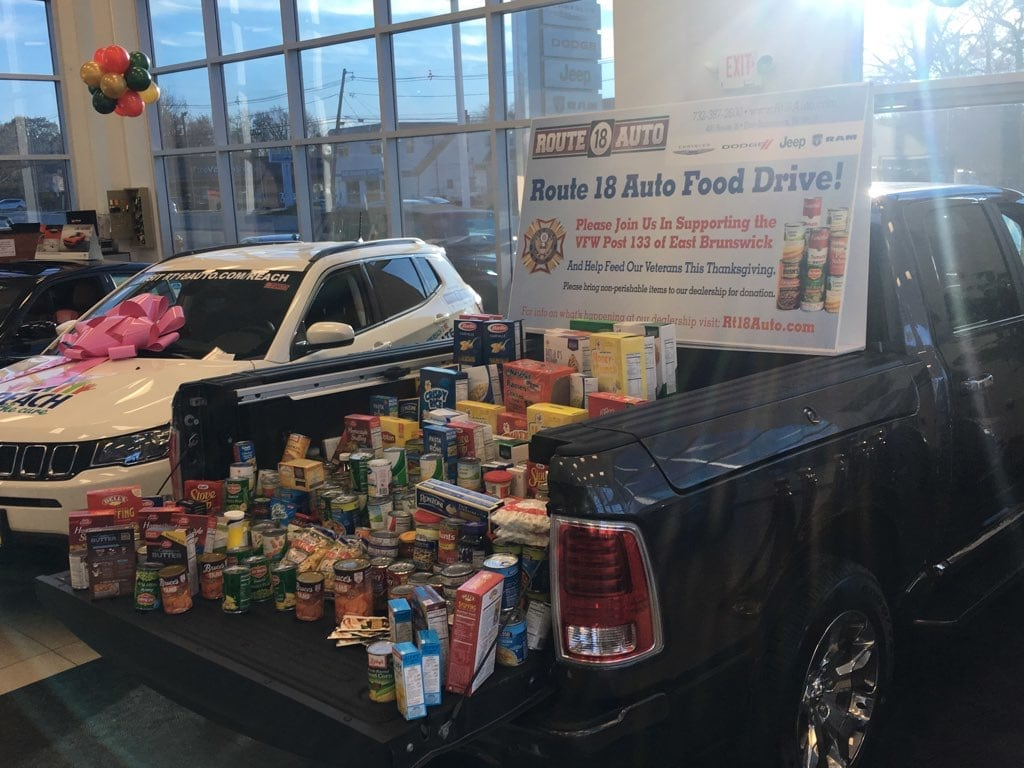 route 18 chrysler jeep dodge ram cares in the community