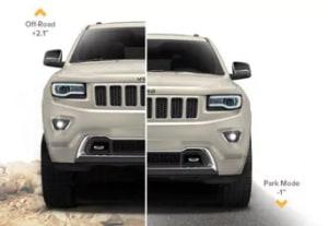 Jeep Grand Cherokee Quadra Lift Air Suspension System