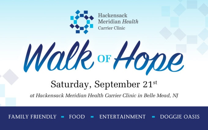 Hackensack Meridian Health Carrier Clinic Walk of Hope