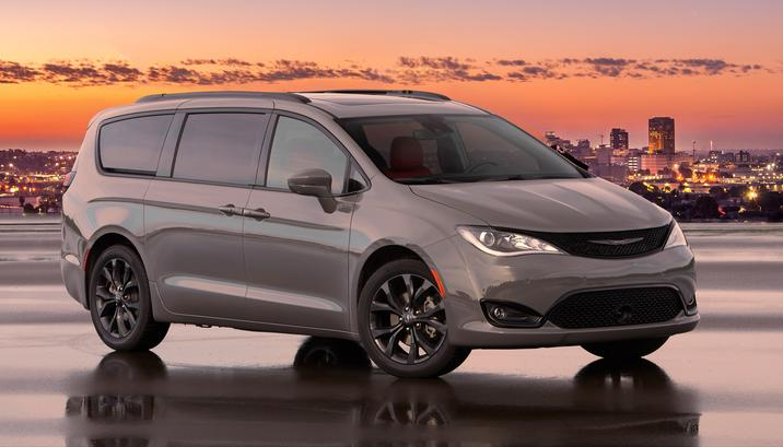 2020 Chrysler Pacifica Red S Appearance Package NJ