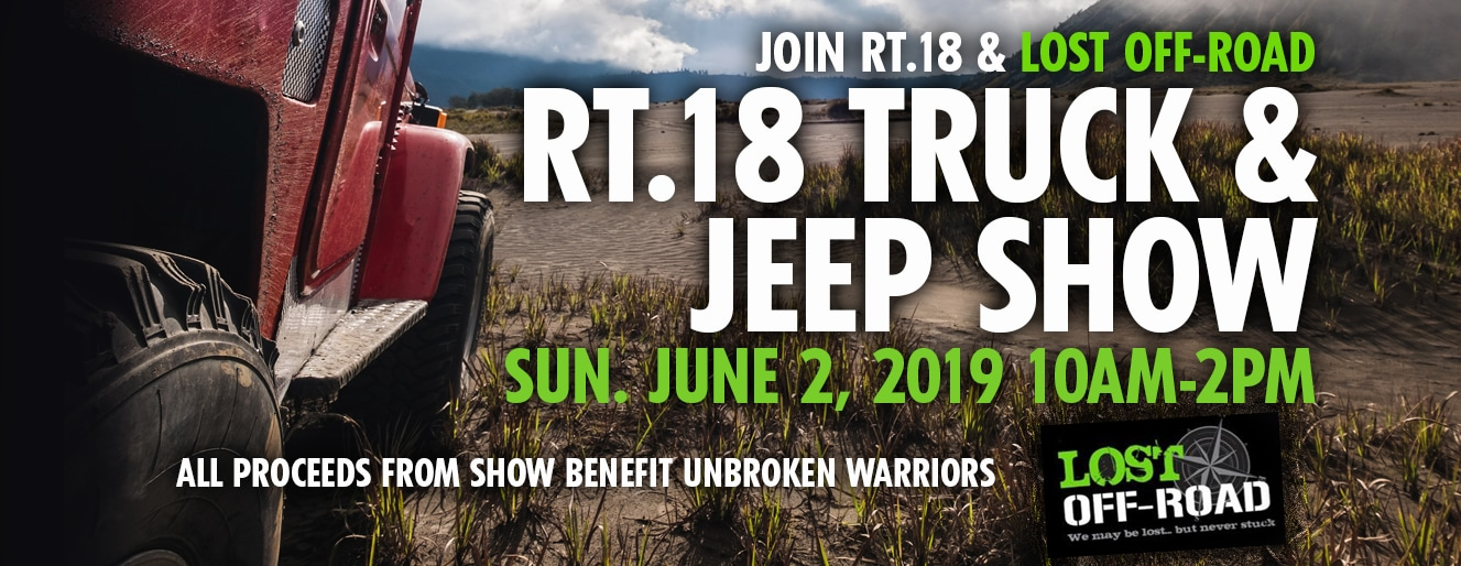 Rt 18 Truck Jeep Show