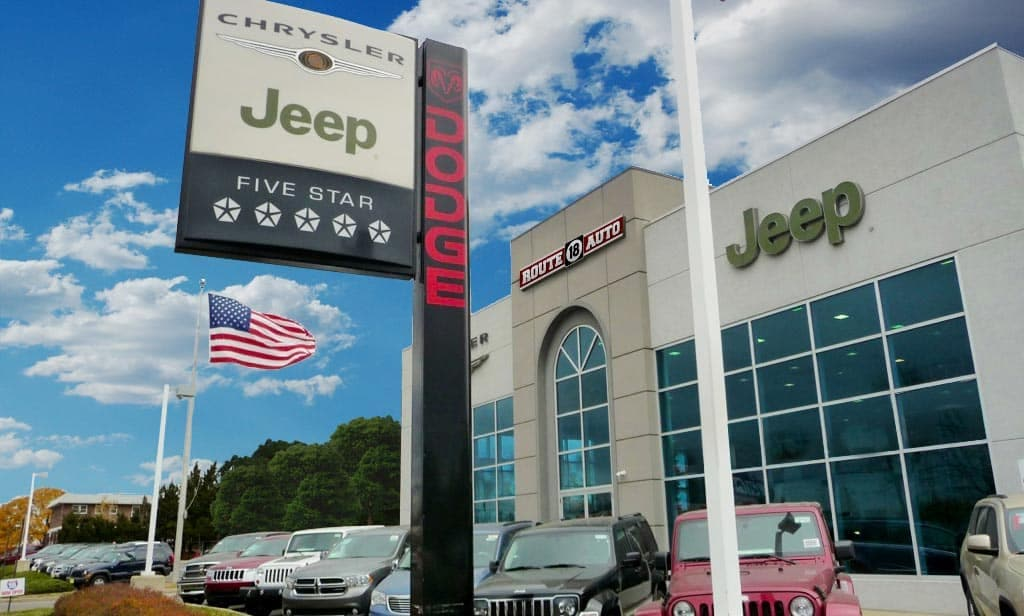 Dodge Dealers In Nj >> Route 18 Chrysler Jeep Dodge Ram In Middlesex County Nj