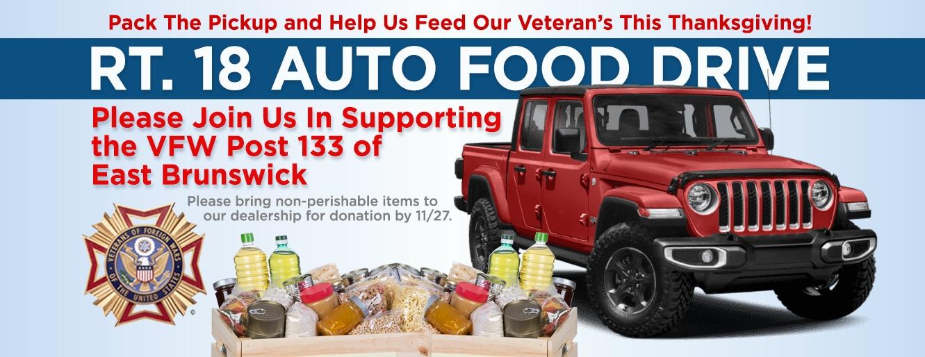 VFW Thanksgiving Food Drive East Brunswick NJ