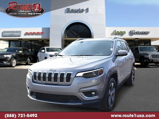 2019 Jeep Cherokee Limited Limited 4x4 [PSC, SDA, TWS, 26G, DFH, WPR, DLX9, EHK, DMC] Billet Silver Metallic Clearcoat in Lawrenceville