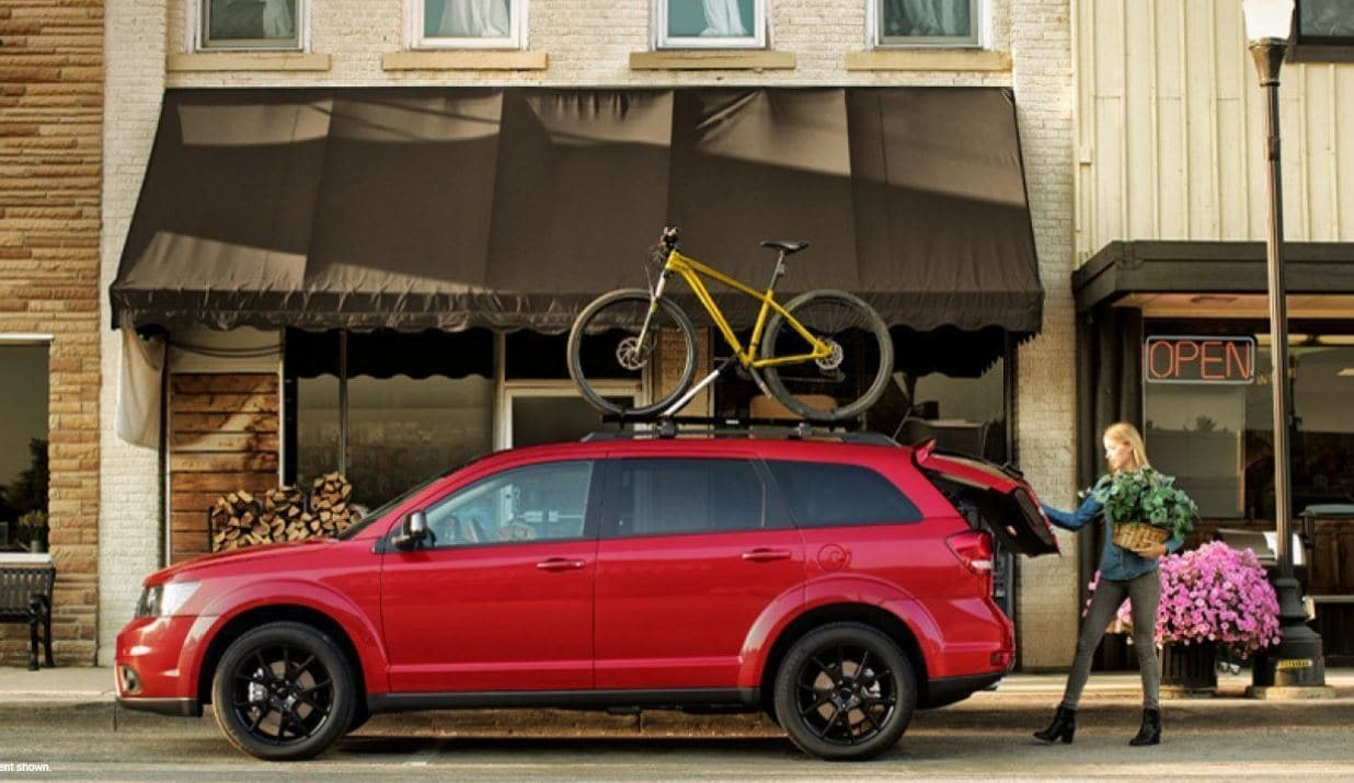 Red 2019 Dodge Journey