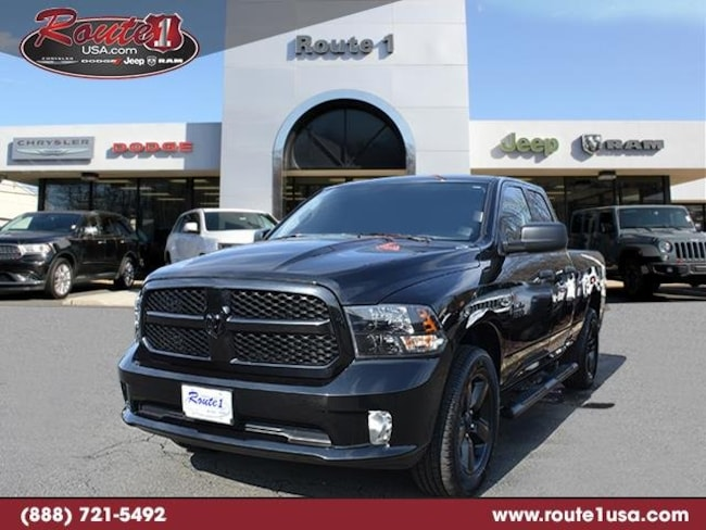 2018 Ram 1500 Express Express 4x4 Quad Cab 64 Box [RA2, RSD, V9X8-2, AMQ, Z6D, XN8-A, 22J, DFL, PXR, TTN, MRU, ERB, DMC, WHN, CLF, GXM] Brilliant Black Crystal Pearlcoat in Lawrenceville