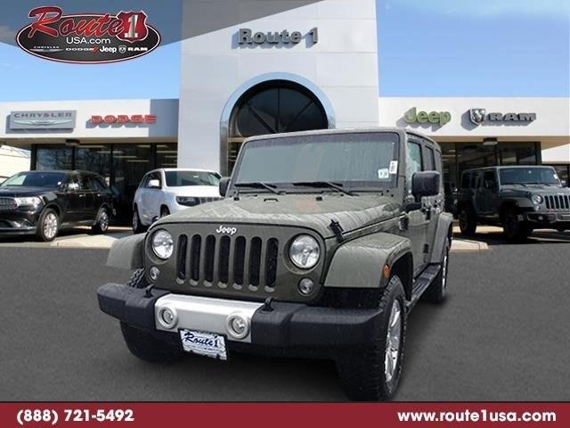 2015 Jeep Wrangler Unlimited 4WD Sahara