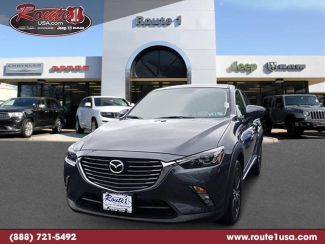 2016 Mazda CX-3 Grand Touring AWD  Grand Touring [42A, WLK-0, DX8] Meteor Gray Mica in Lawrenceville