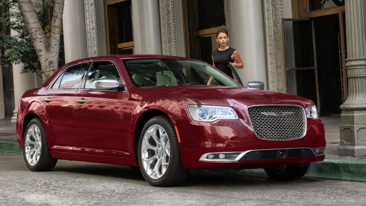 Maroon 2019 Chrysler 300