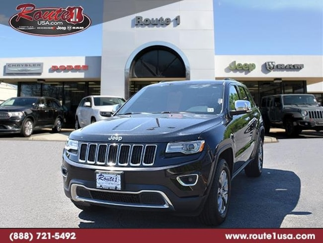 2015 Jeep Grand Cherokee Limited 4WD  Limited [WBL, DPM, 28H, RC3, RA4, AHN, DFK, DLX9, PXR, Z6H, EZH, TP5] Brilliant Black Crystal Pearlcoat in Lawrenceville