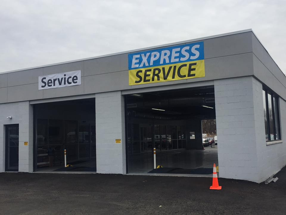 Service Department at Route 1 CDJR