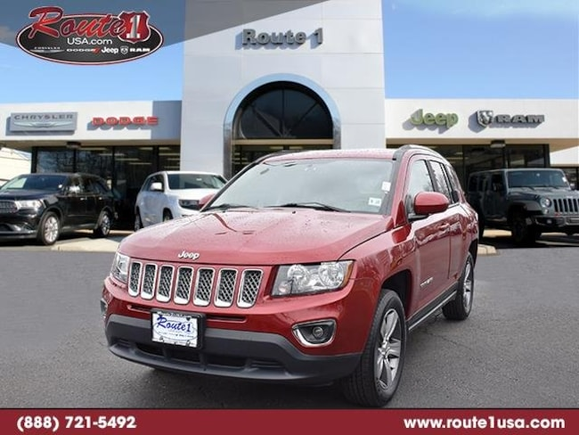 2016 Jeep Compass High Altitude Edition 4WD  High Altitude Edition [TRA, YEP, ED3, WFC, DA4, RBZ, XAC, SLDV, PRP, 23P] Deep Cherry Red Crystal Pearlcoat in Lawrenceville