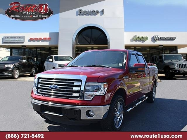 2014 Ford F-150 Lariat 4WD SuperCrew 145 Lariat Ruby Red Metallic Tinted Clearcoat