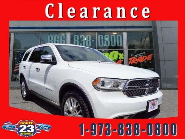2015 Dodge Durango Citadel AWD  Citadel
