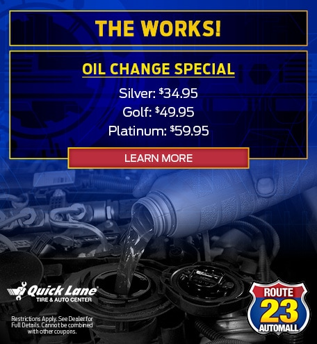 The Works Oil Change