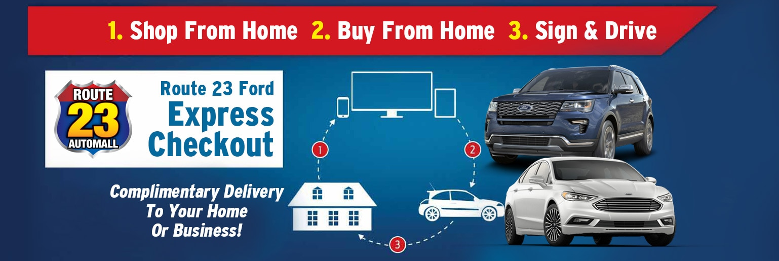 Route 23 Ford Ready Shop Go Express Checkout Nj