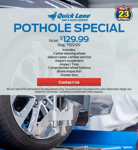 Pot Hole Special!