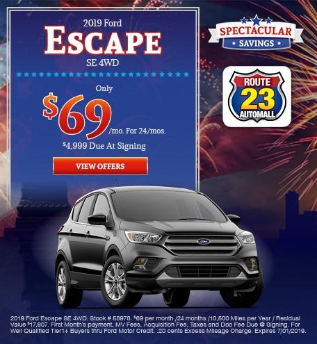 2019 - Escape - June