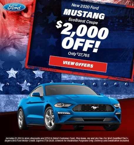 2020 - Mustang - July