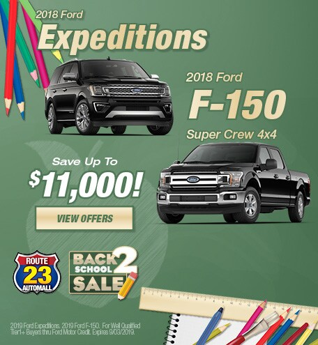 2018 - Expedition/F-150 - August
