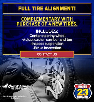 Full Tire Alignment