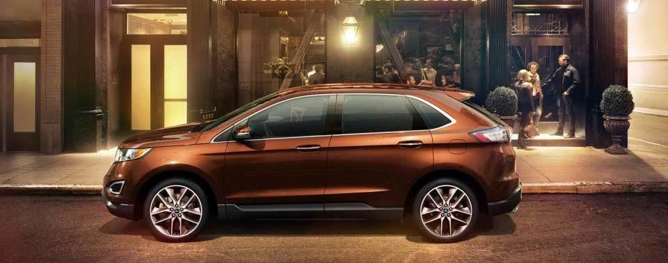 The Redesigned Ford Edge Commands Attention
