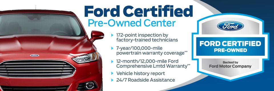 Ford Certified Pre Owned >> Certified Ford Near Wayne Nj Route 23 Auto Mall