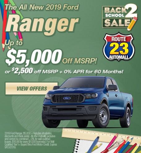 2019 - Ranger - August
