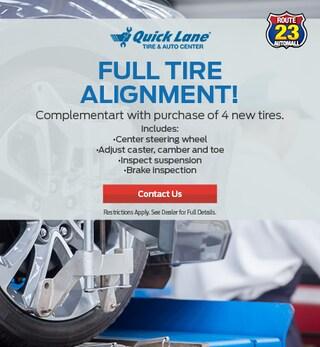 Full Tire Alignment