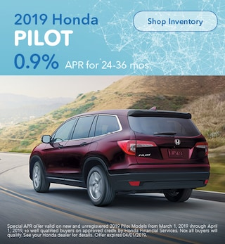 2019 Honda Pilot March Offer